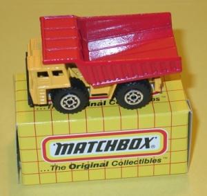 Matchbox dumptruck