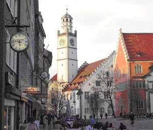 Ravensburg where Joshi and Christa live