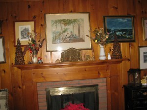 Creche on the Mantle