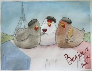 xmas 2012 three french hens