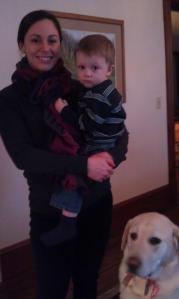 Nathan ski vac jan 2013 meridith babystng Stephen