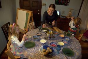 xmas 2012 fondue supper