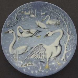 xmas 2012 seven swans