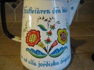 Amish gift Swedish Bergrren pot