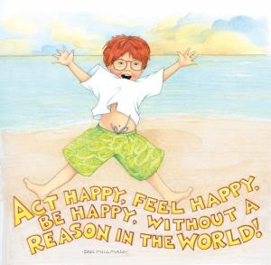 Art ME act happy