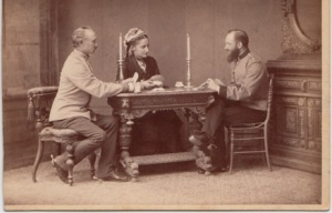Szalay Kristof from Kund Terez may 2013 Fricke Georg with wife Aurelia and probably George's adjutant 1880s