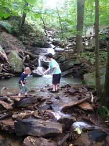 Grands camping waterfall Ohiopyle aug 2013