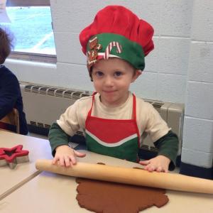 Stephen dec 2013 at preschool