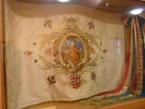 Hungary scout flag Godolon