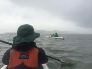 Nathan May 2014 kayaking to Shelter Island