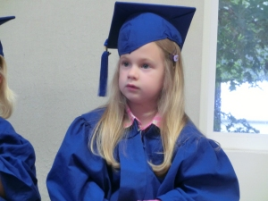 Clara May 2014 preschool graduation 1