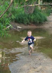 Stephen June 2014 at CVNP having fun in mud