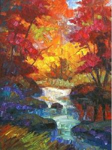 Art  Autumn Reflections Armand Tatossian