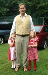 Em september 2014 ingmar and girls at brimfield german festival