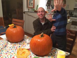 Alice october 2014 pumpkin carving night
