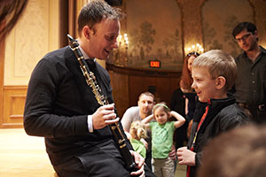 Cleveland Orchestra clarinets concert oct 2014