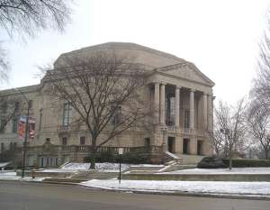 Cleveland Orchestra home winter view
