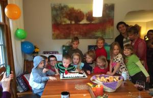 Stephen october 2014 kid pic at 4th bday for steveo