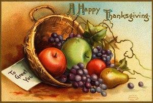 Thanksgiving card 2010