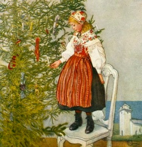 Christmas by Carl Larsson