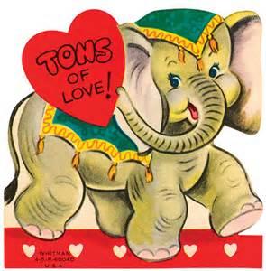 art valentine elephant