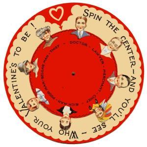 art valentine spin