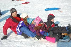 sledding jan 2015 31st 12th