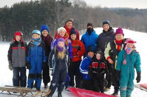 sledding jan 2015 31st 3rd
