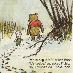 Art my favorite day from Winnie the Pooh