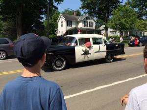 Alice july 2015 police car at the parade