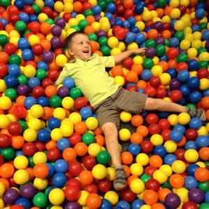 Stephen september 2015 ball pit at r r hall of fame