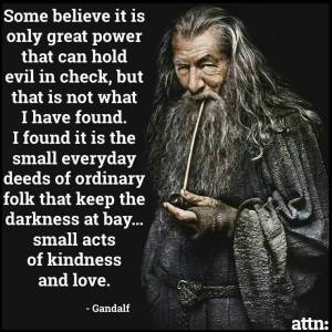 Art Quote Gandalf
