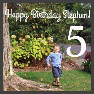 Stephen october 2015 turning 5 on the 6th