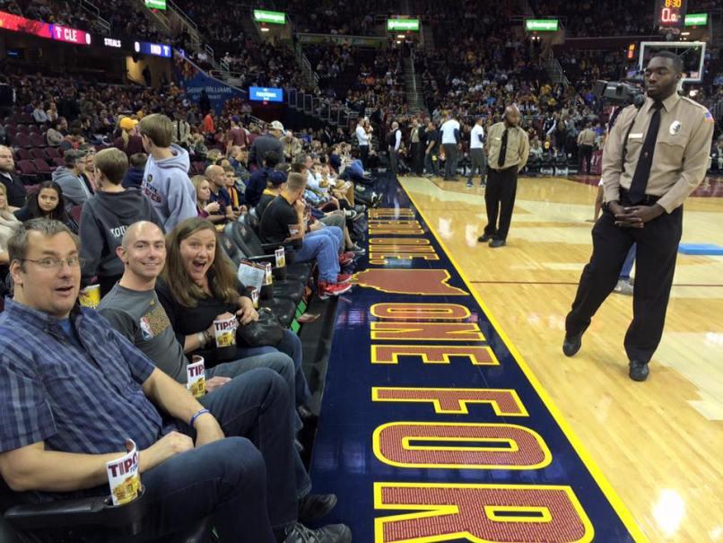 cleveland cavaliers floor seats | Brokeasshome.com