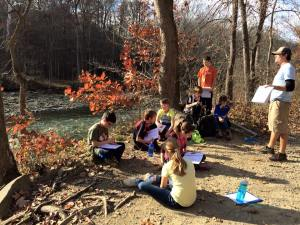 Nathan nov 2015 3 day trip with class CVNP
