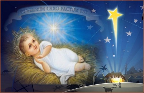 Christmas et verbum caro factum est