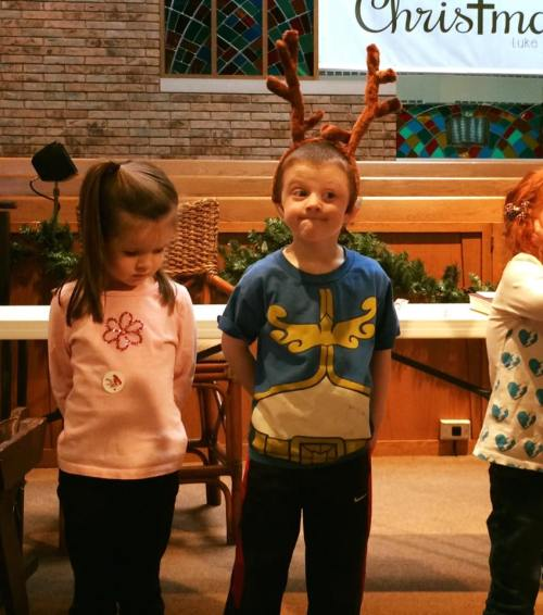 Stephen dec 2015 practicing for Christmas program dec