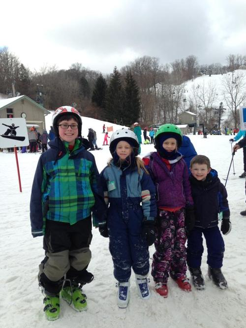 Nathan jan 23 2016 ski club at boston mills for 4 gkids