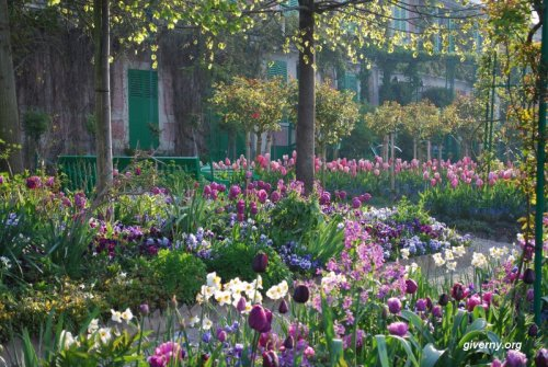 Giverny in the spring