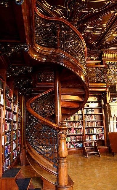 Library Szabo Ervin budapest