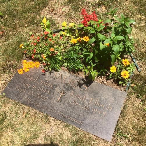 Paul june 2016 fathers day flowers alice and family planted