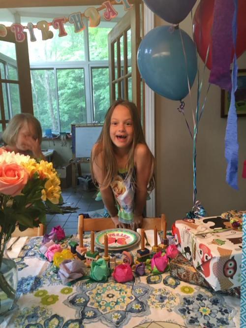 Clara july 2016 party