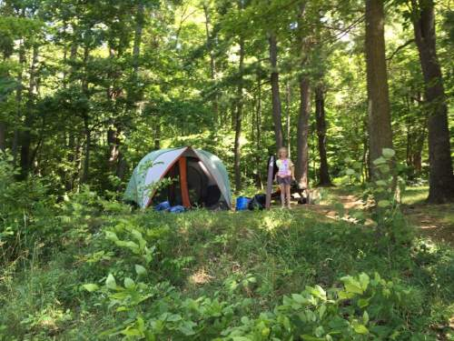 Em aug 2016 camping alleghny the tent