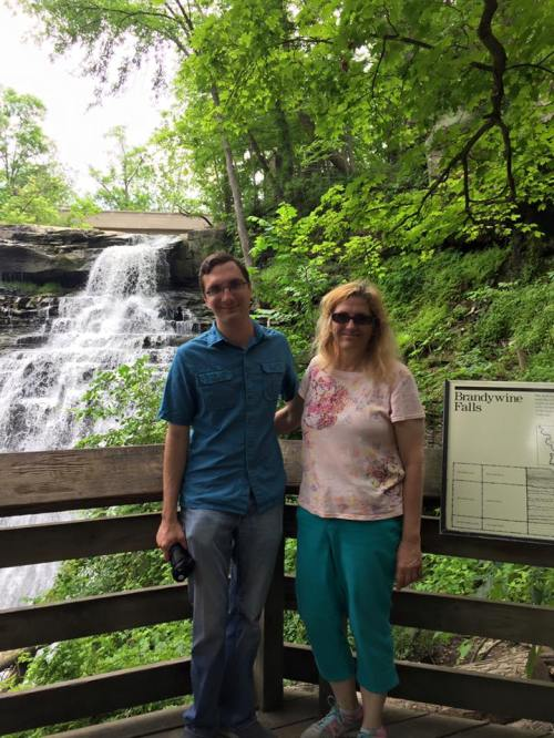 FnF Marlena Boggs june 2017 at Brandywine Falls