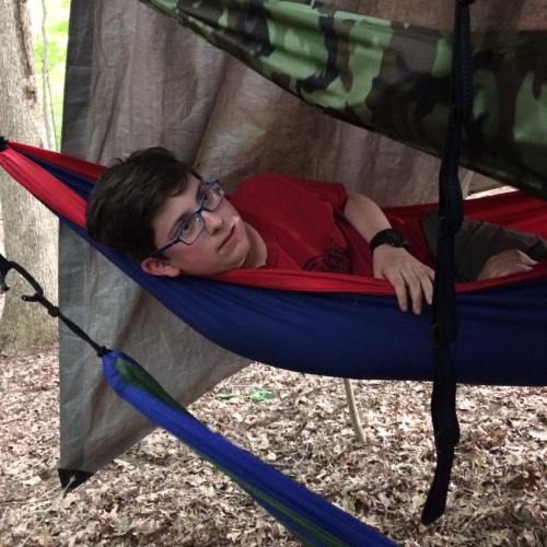 nathan june 2017 scout camp hammock for Nathan
