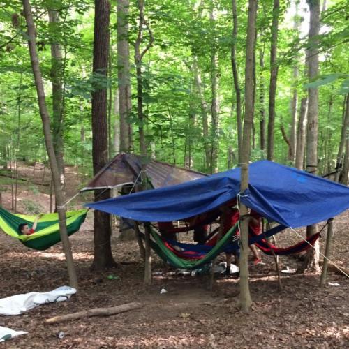 nathan june 2017 scout camp hammocks