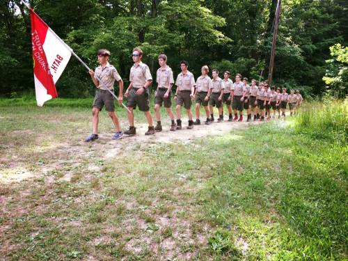 nathan june 2017 scout camp parents night
