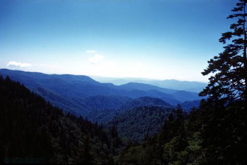 Hills blue