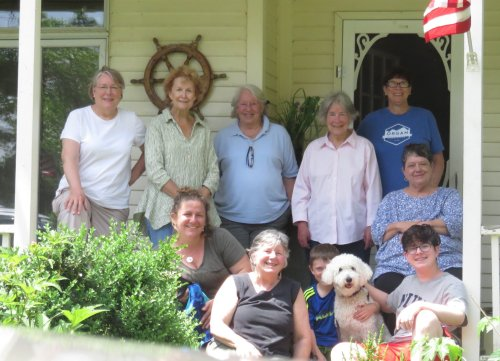 chaut june 2018 daly all of us minus husbands on the side porch